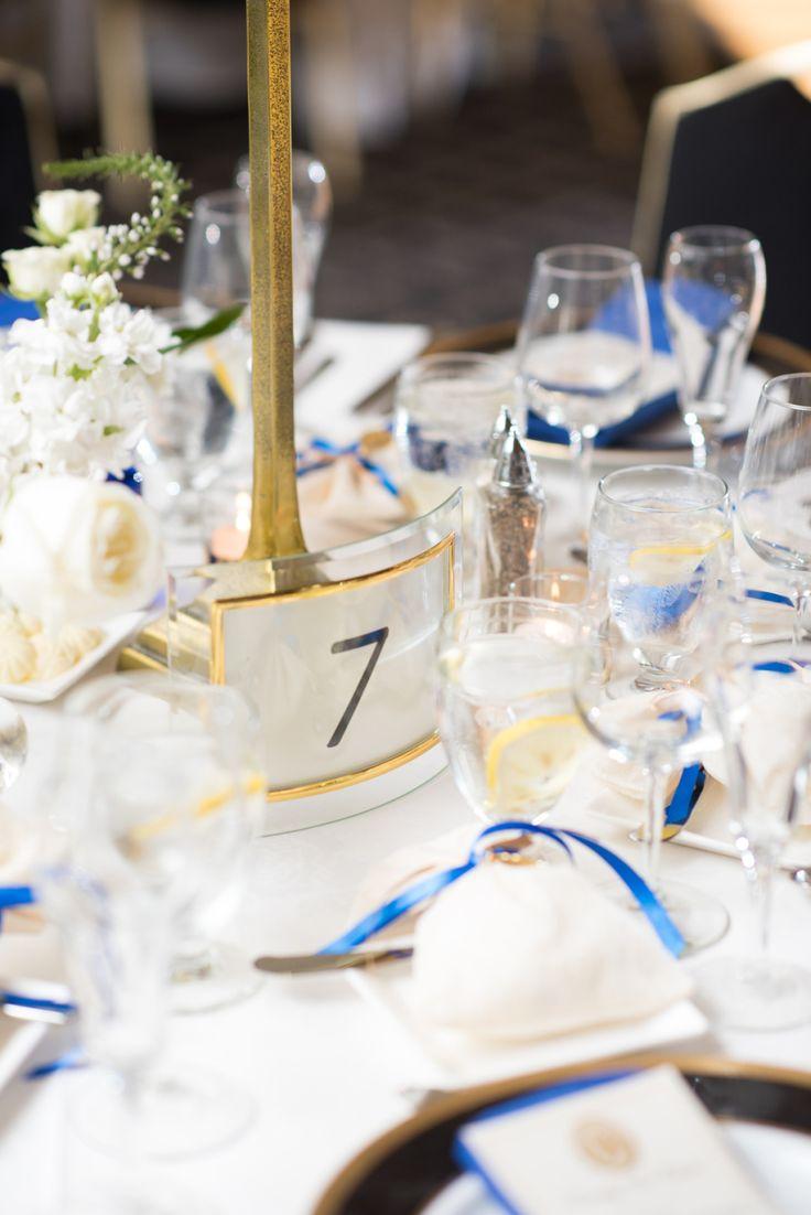 Event Planning: Chi Chic Weddings & Events - http://www.stylemepretty.com/portfolio/chi-chic-weddings-and-events Reception Location: Millenium Hotel - http://www.stylemepretty.com/portfolio/millenium-hotel Photography: Elizabeth Nord Photography - elizabethnord.com   Read More on SMP: http://www.stylemepretty.com/2016/09/21/blue-ivory-greek-chicago-wedding/