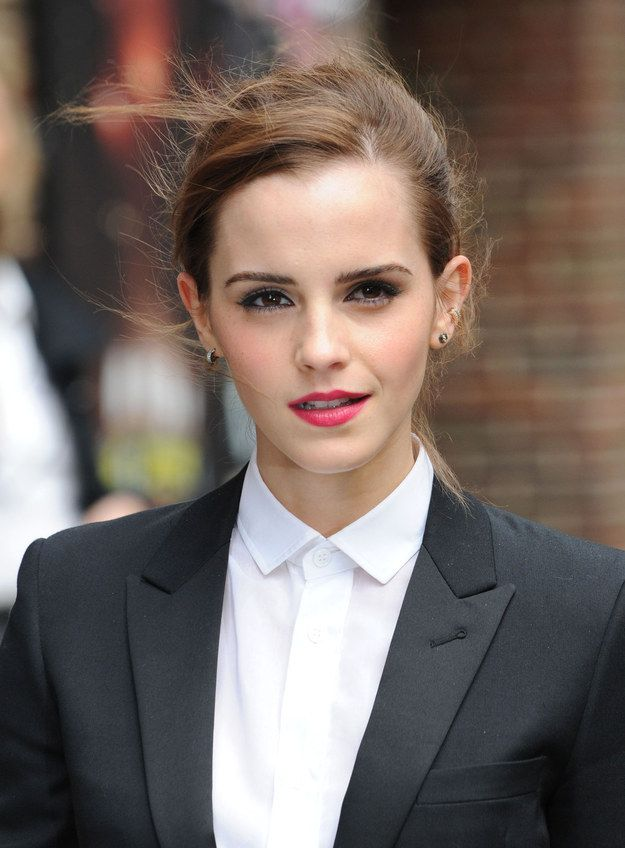 And so does her face. I mean, it's a flawless face. | 29 Reasons Emma Watson Is The Light Of Every Human's Life