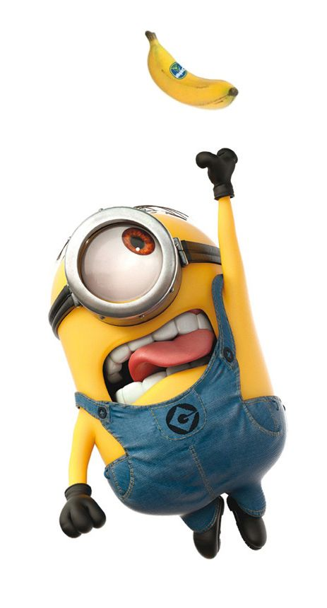 Minions! This would be me, lol! Love bananas!