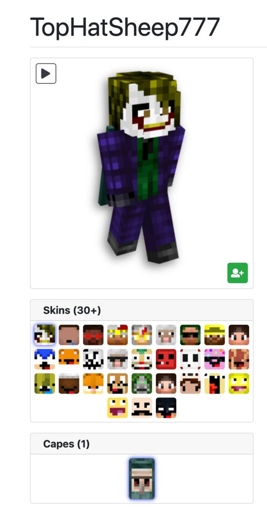 2015 Minecon Cape Account #minecraft #playing #game | The