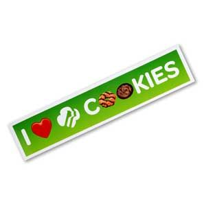 Girl Scout Shop - Cookie Car Magnet