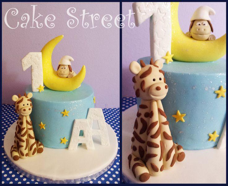 Baby Crescent Cake!