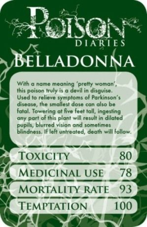 10 Deadly Poisons - A crime writer's resource - Writers Write Interesting for a murder/mystery story.