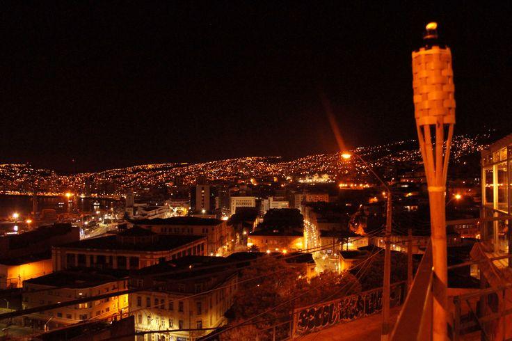 Vistas desde nuestra Terraza Arrayan. Valparaíso en Estado Puro