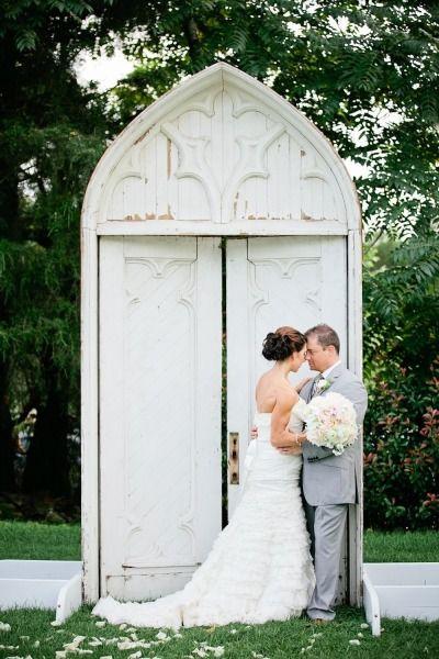 Rustic backdrop: http://www.stylemepretty.com/2014/01/02/rustic-tented-historic-cedarwood-wedding/ | Photography: Kristyn Hogan - http://www.kristynhogan.com/