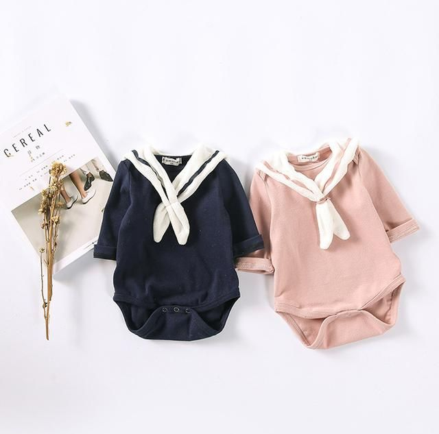 Knotted Collar Bodysuit http://dreamlittleangel.com/products/knotted-collar-bodysuit?utm_campaign=crowdfire&utm_content=crowdfire&utm_medium=social&utm_source=pinterest Baby Clothes/ Baby Shower ideas/ baby boy clothing/ baby girl clothing/ Baby statement Onesie/ toddler activities/ toddler crafts/ Infant/ newborn/ infant activities/ Infant crafts/ breastfeeding/ baby unisex clothing/ Baby fashion/ Baby rainbow outfit/ rainbow theme Baby Shower/ newborn baby outfits/ new Baby Arrival/ Baby…