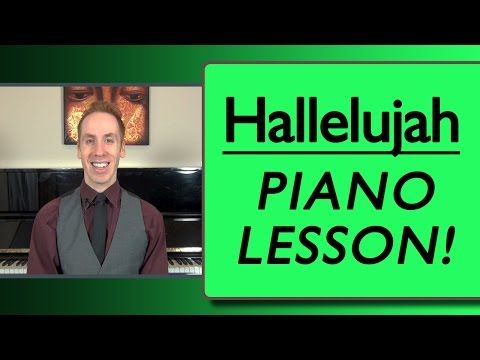 Hallelujah Piano: Fast And Simple Piano Lesson - YouTube
