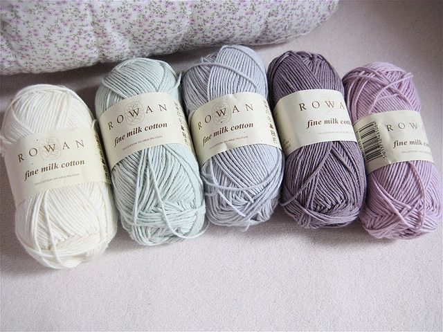 such pretty dusty pastels would love to make a blanket in these colours
