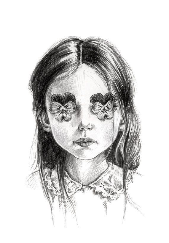 I See You art print by Julie Filipenko