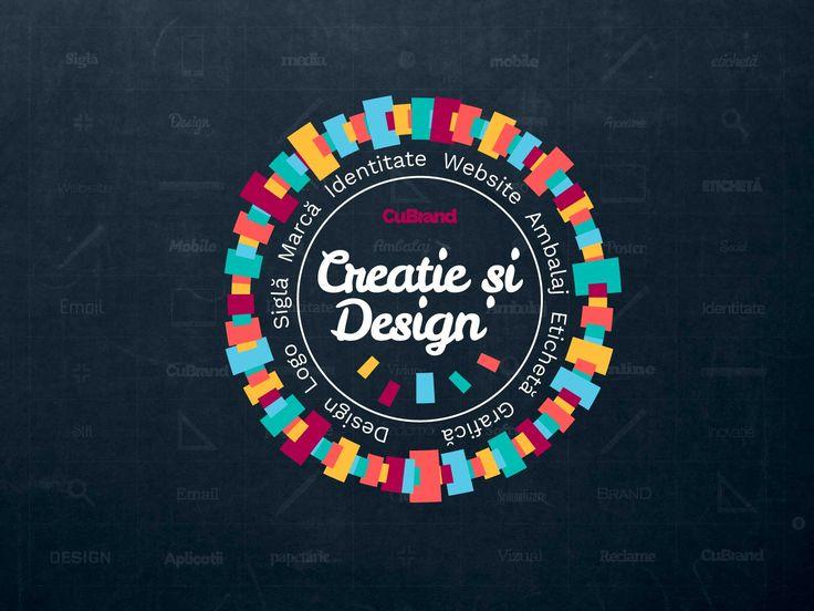 Creație și Design de Brand. Design de logo, identitate vizuală, design de etichetă și ambalaj, design site-uri web, design aplicații mobile, papetărie, design grafic, reclame sau orice alte concepte de design.  http://cubrand.ro/