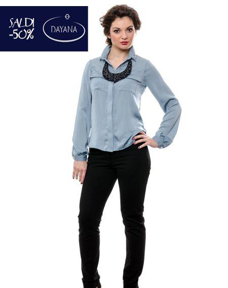 "CAMICIA DAYANA IN CUPRO COLLEZIONE AI 2013/14 ""SALDI -50%""  #fashion #moda #sale #saldi #shopping #fw #woman #madeitaly #curvy #casual  http://www.dayanaboutique.com/shop/it/camicia/18-CAMICIA-DAYANA-IN-CUPRO.html"