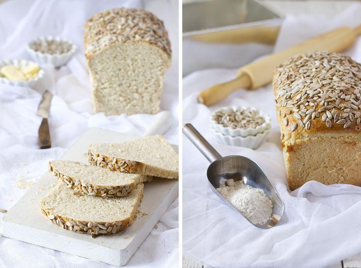 Pan de molde con pipas