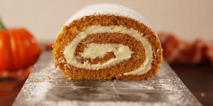 Best Pumpkin Roll Recipe - How to Make Pumpkin Roll