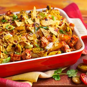 Quorn Meat Free Mexican Chicken Pieces Pasta Bake