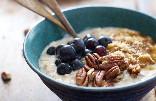 flaxmeal oatmeal pecan oatmeal flax blueberry blueberry vanilla ...
