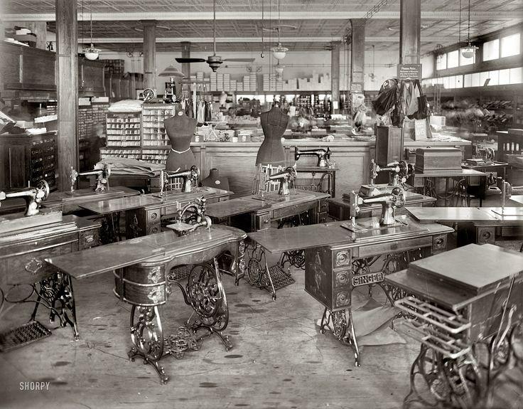 "Washington, D.C., circa 1919. ""Oppenheimer's dress shop."" National Photo Company Collection glass negative."