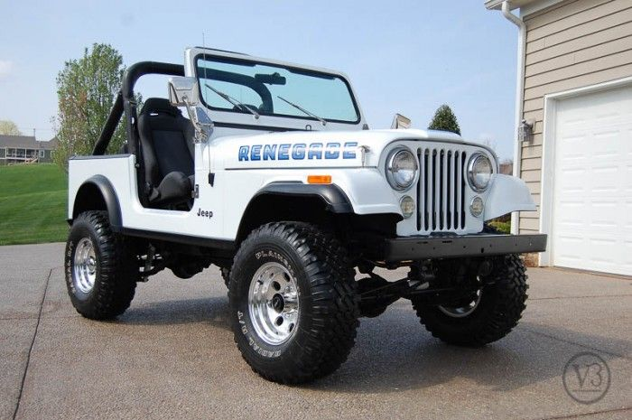 1984 jeep cj7 renegade Love this!! ❤️