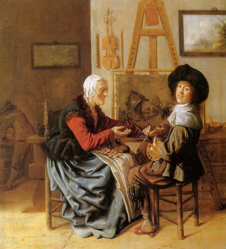 Genre barock  74 besten Molenaer, Jan Miense Bilder auf Pinterest | Painting ...