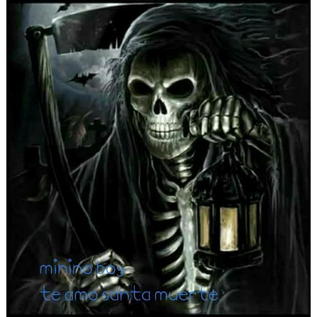 Mi Nina Hermosa Santa Muerte Negra Muerte Negra Santa Muerte Muerte