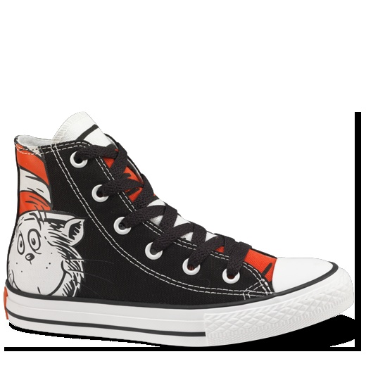 Dr. Seuss Converse: Hats Conver, Chuck Taylors, Cat, Converse, Drseuss, Seuss Conver, Dr. Seuss, Conver Chucktaylor, Conver Shoes