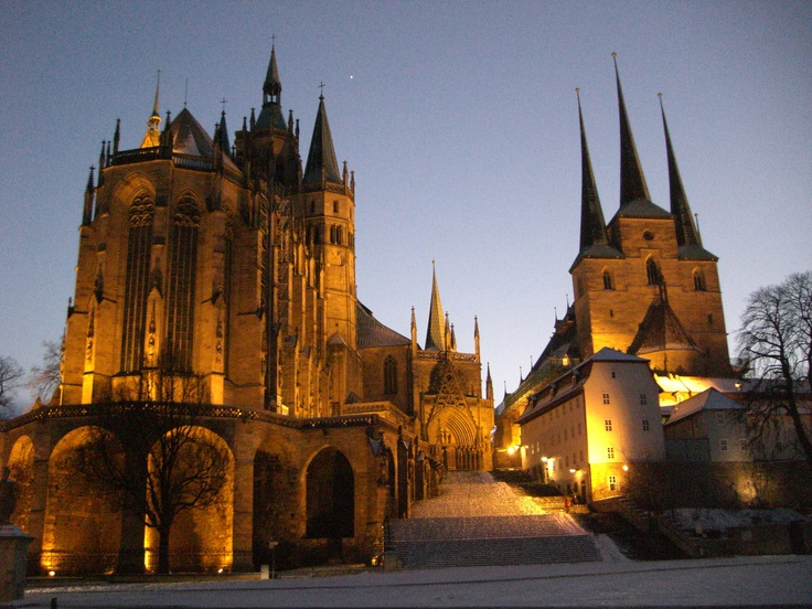 Erfurt Cathedrals - Germany