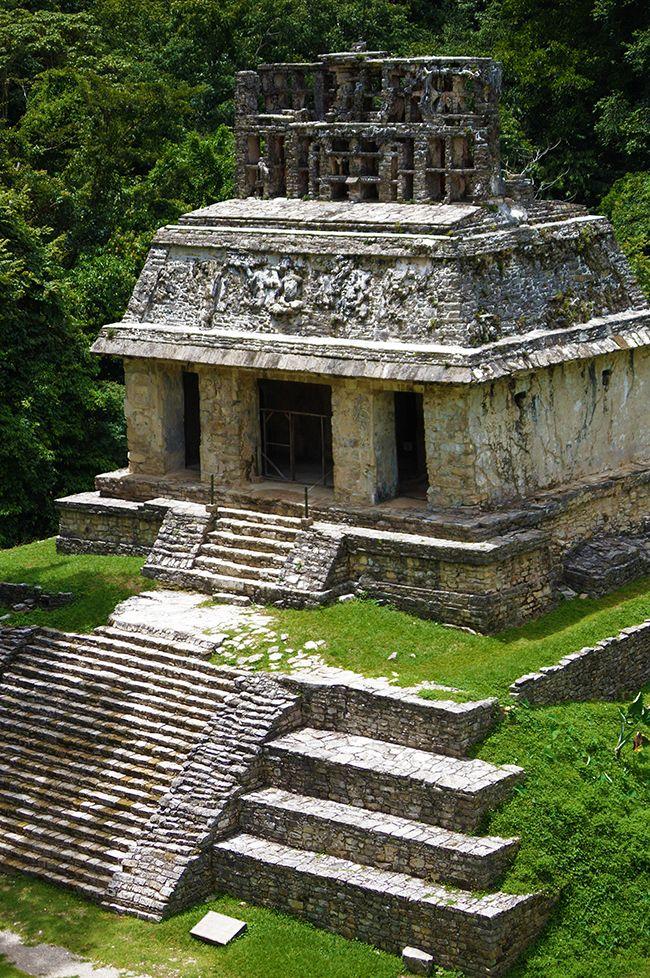 Templo del Sol Palenque Ciudad Maya