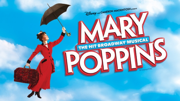 Mary Poppins - Memphis Orpheum - 2/5-10