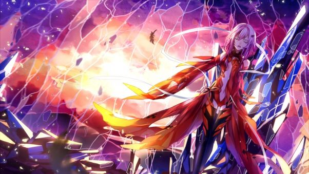 Wallpaper guilty crown, anime, inori Guilty crown
