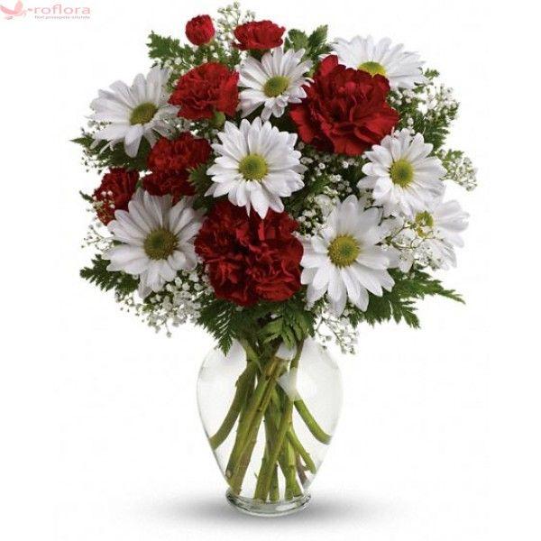 ambiance-buchet-garoafe-si-garofite-rosii-gypsophila-crizanteme.jpg (600×600)