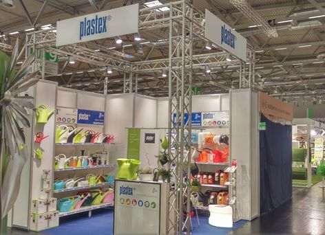 Plastex booth in Spoga+gafa15 Expo Cologne.