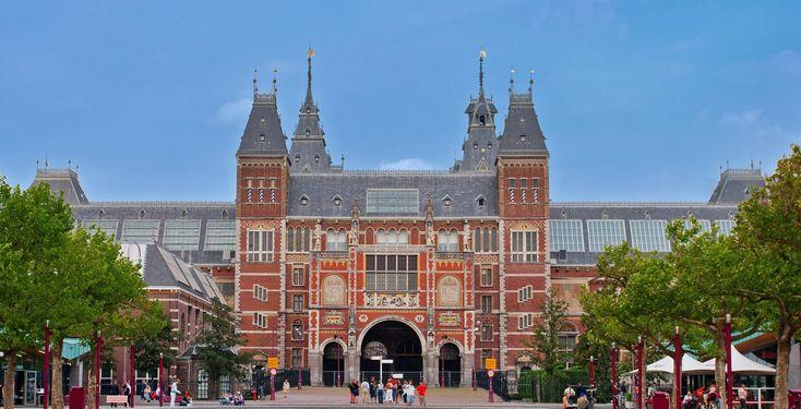Rijksmuseum, Museumstraat te Amsterdam