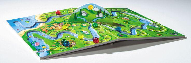 Monte-Rolla, un jeu de plateau incliné qui fait briller les yeux des enfants !