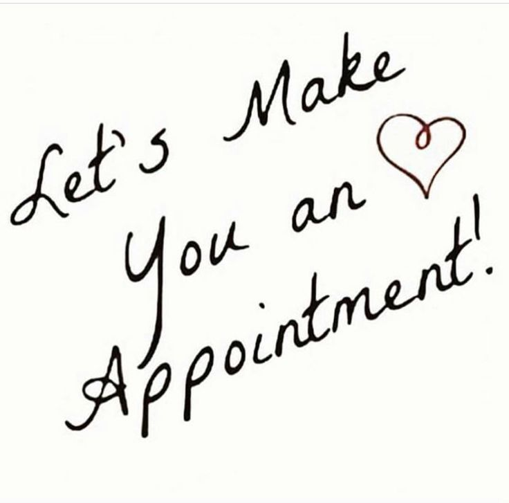 Schedule Your Appointment Today !