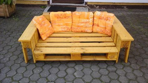 Pallet Double Lounge Chair | 99 Pallets