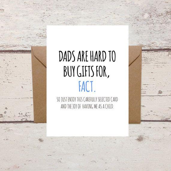 Funny Birthday Card Ideas Dad