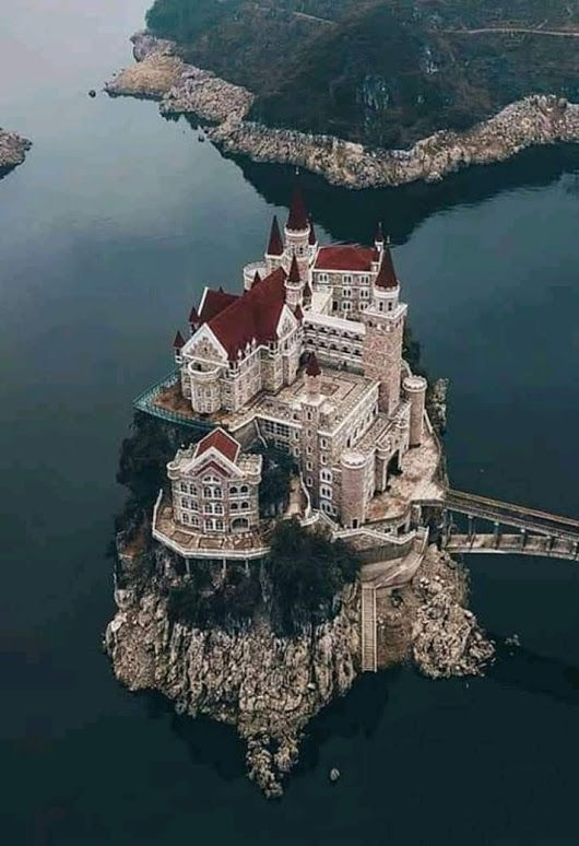 Not only is this an incredible castle, but it's an island! And the castle takes … – Places to see