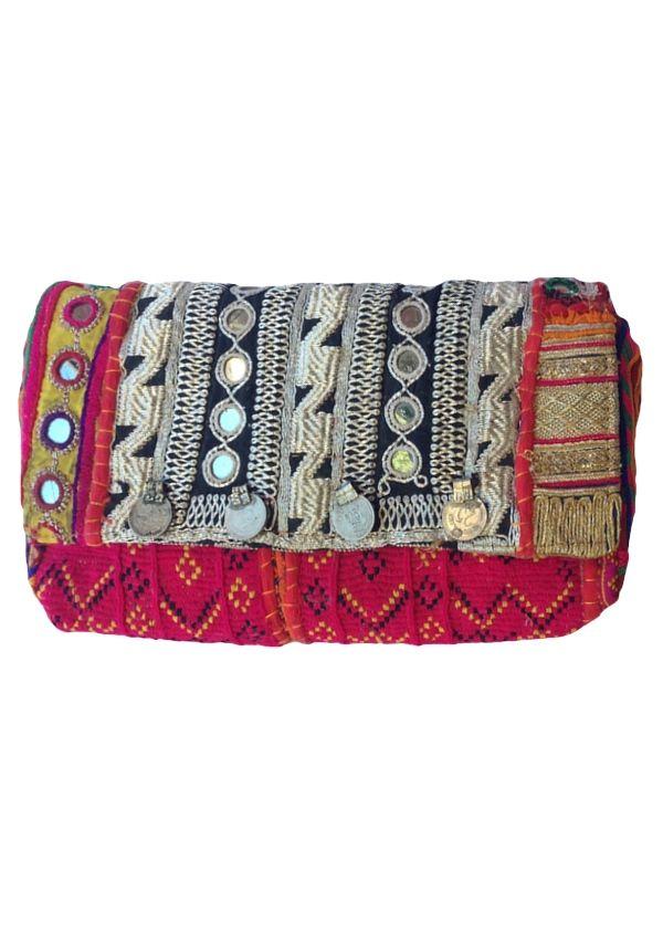 Karma East - Vintage Banjara Gypsy Clutch 1