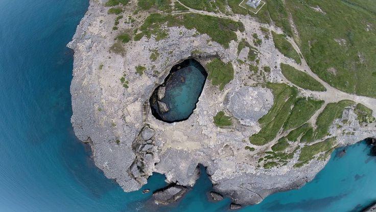 The Poesia Cave (natural pool) – Lecce – Puglia - Italy - Salento
