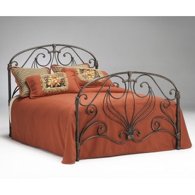 Athena Verdi Headboard Size: Full    Features: -Durable metal construction. -Requires metal bed frame. -Purchase 2 for complete bed.    $239.99