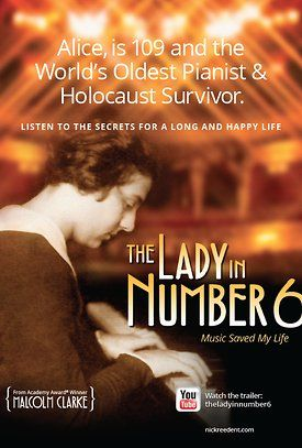 Alice: The Lady in Number 6: Music Saved My Life.  REALLY good stuff!