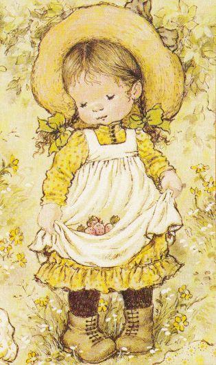 Dessin de Sarah Kay illustratrice et auteure australienne de livres pour enfants.
