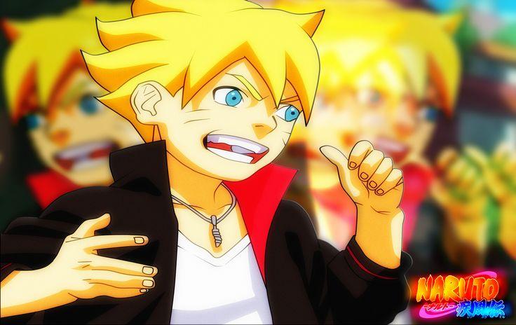 Boruto Uzumaki - Naruto Uzumaki's Son by EternalFreex3r720 ...