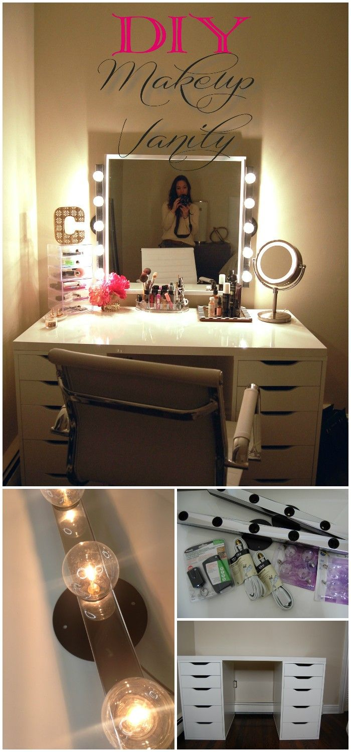 Best 25 Diy Makeup Vanity Ideas On Pinterest Diy Makeup