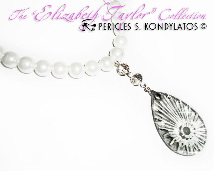 """Elizabeth Taylor collection"" necklace by Pericles Kondylatos"