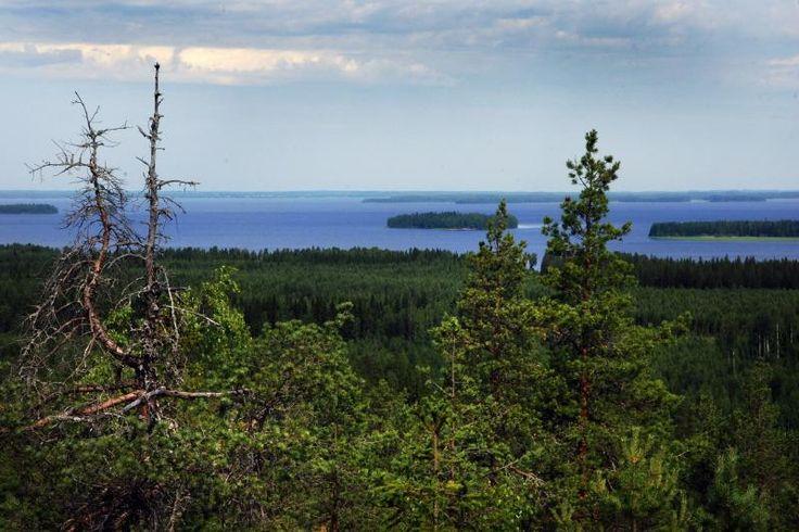 South Ostrobothnia province of Western Finland. Lake Lappajärvi - Etelä-Pohjanmaa.
