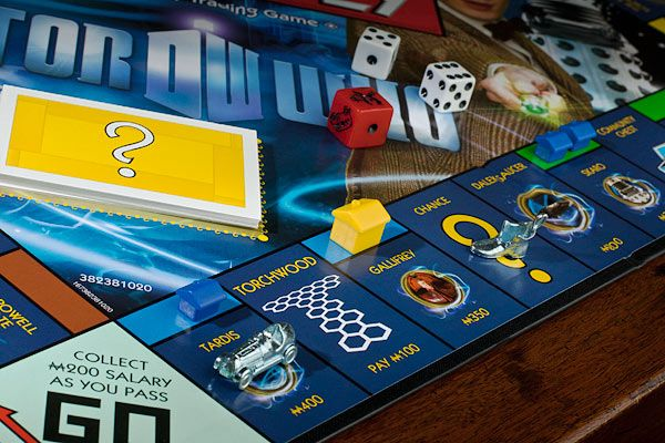 The Doctor Who Monopoly 2