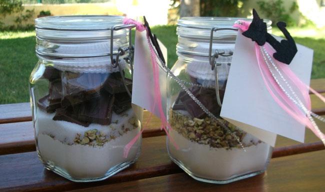 Muffins de Chocolate e Pistáchios.