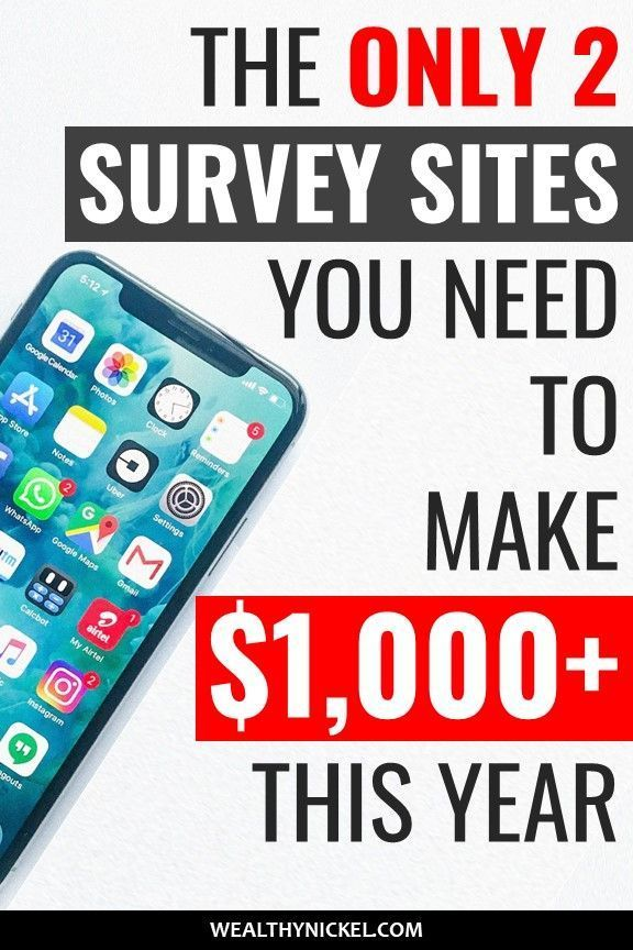 The Absolute Best Online Surveys That Pay Cash in 2019 (There's Only 2) – Make Money Online