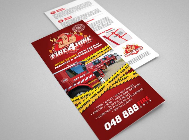Fire 4 Hire Brochure by Csquared Design