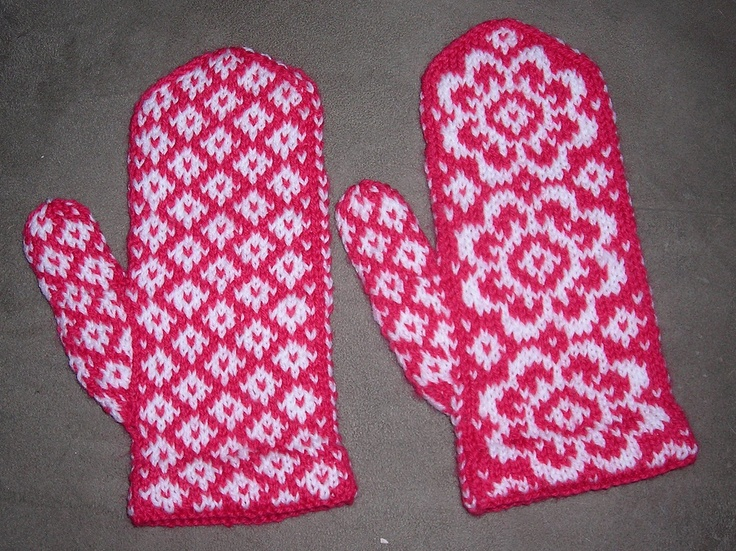 Knitted End of May Mittens | Knit-twit | Pinterest | Mittens, End Of ...